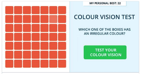 iGame eye test 2 on Art is everyhwere