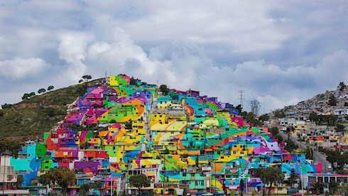 Pachuca village_via  Quartz on Art Is Everywhere