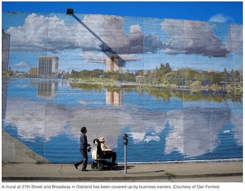 Dan Fontes Oakland Mural on Art Is Everywhere