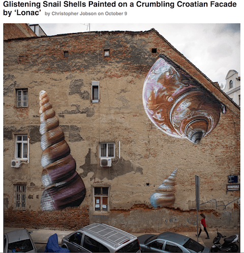 2_Shells by Lonac_via Colossal_Art Is Everywhere