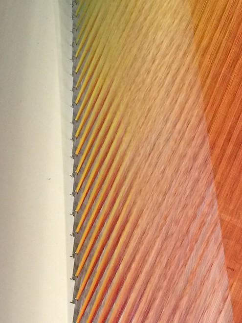 Detail Sunlit Yarn by Gabriel Dawe on Art Is Everywhere