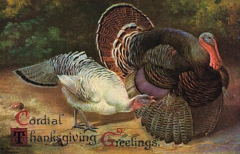 Thanksgiving Greetings by The American School from Fine Art America on Art Is Everywhere