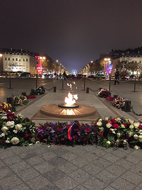 Paris' Eternal Flame at the Arc on Art Is Everywhere