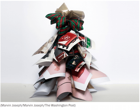 Christmas catalog tree on Art Is Everywhere