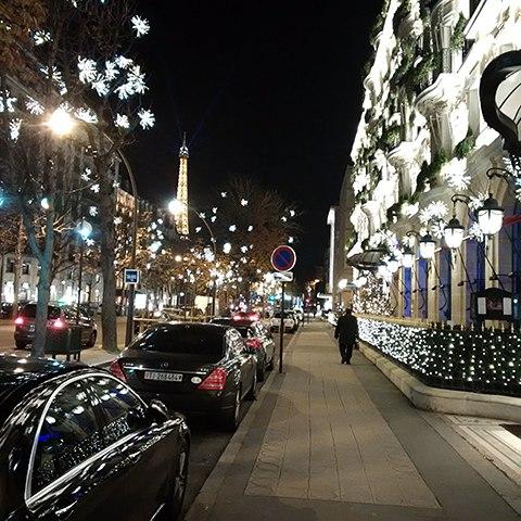 Paris Lights on Art Is Everywhere
