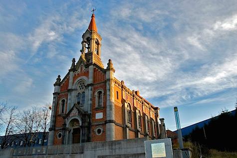 Church Exterior via Colossal_AIE