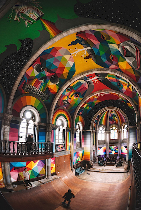 Skate church via Colossal_AIE