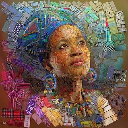 African Mosaic Bricks for Sasi via Creative Boom2_Art Is Everywhere