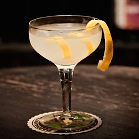 French 75 via Gin Foundry_Art Is Everywhere