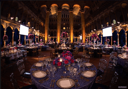 Prevent Cancer Gala table arrangements_Art Is Everywhere