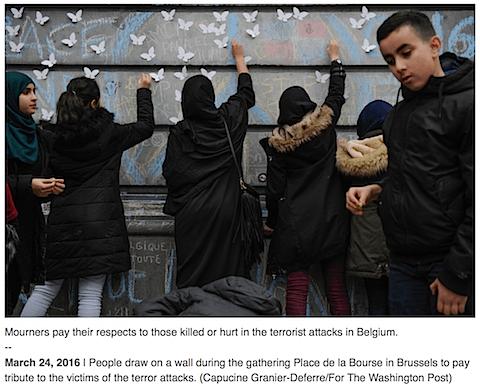 Begium Muslims unite on Art Is Everywhere