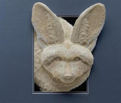 Fox_Paper Sculpture Calvin Nichols_AIE