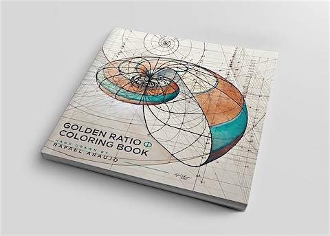 Golden Ratio Coloring Book_ArtIsEverywhere