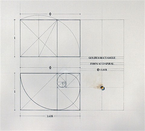 Rafael Araujo_Golden Ratio Rectangle Fibonacci Spiral_ArtIsEverywhere