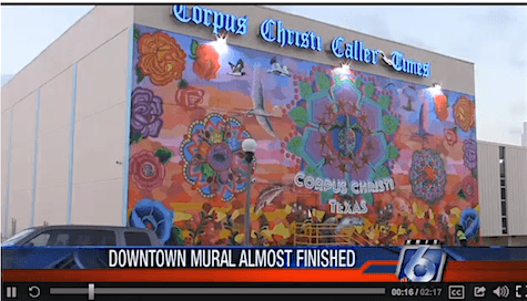 Corpus Christi Mural on AIE