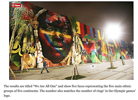 We Are All One Mural by Kobra for the Rio Olympics_AIE