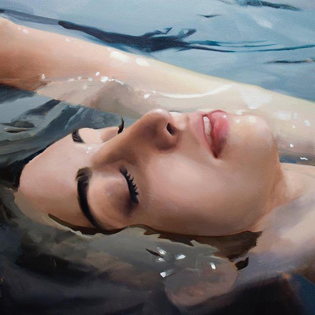 Reisha Perlmutter_portrait painting on Art Is Everywhere
