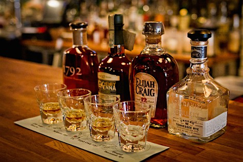 Bourbon flight_hen quarter_AIE