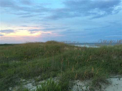 Beach Sunset Ocracoke_AIE