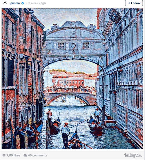 Venice Prisma App_pic as painting_AIE