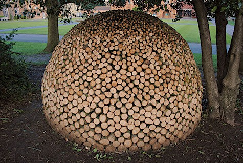 Sphere Wood Pile_AIE