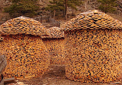Wood Pile Huts_AIE