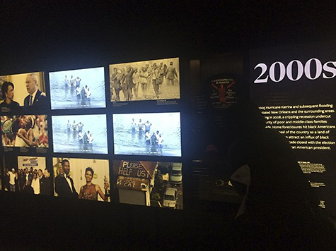 Main NMAAHC exhibit end on AIE