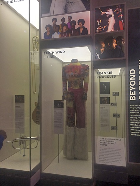 Earth Wind & Fire at NMAAHC on AIE