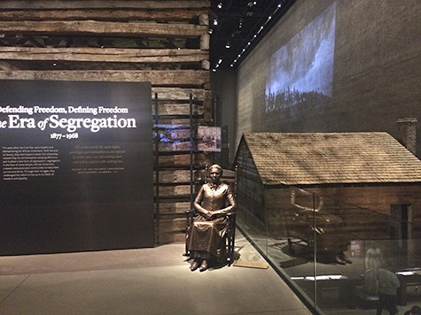 slave and free houses at NMAAHC on Art Is Everywhere