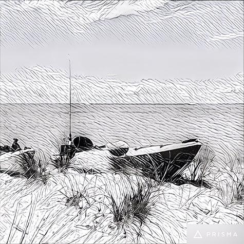 Beach Kayaks photo turned into illustration on Art Is Everywhere