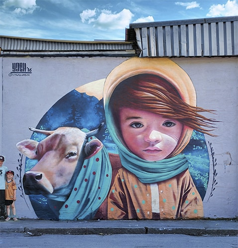Mural by Yash on Art Is Everywhere