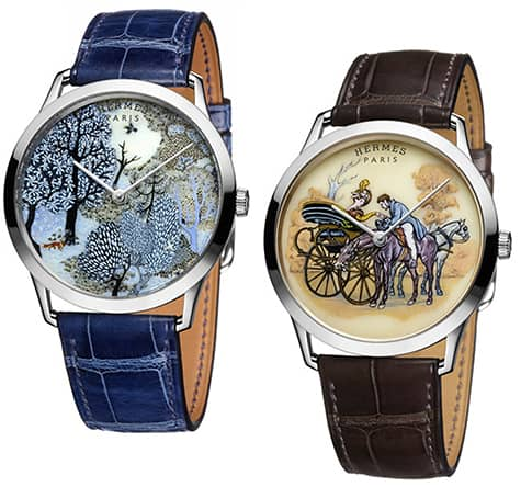 Hermes painted watches_AIE