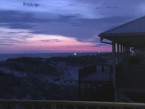 gorgeous Gulf Shores sunset_AIE