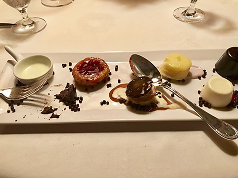 Dessert at The Inn at Little Washington_AIE