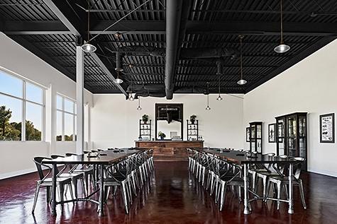 Joseph A Magnus Tasting Room via Sorrell Design_AIE