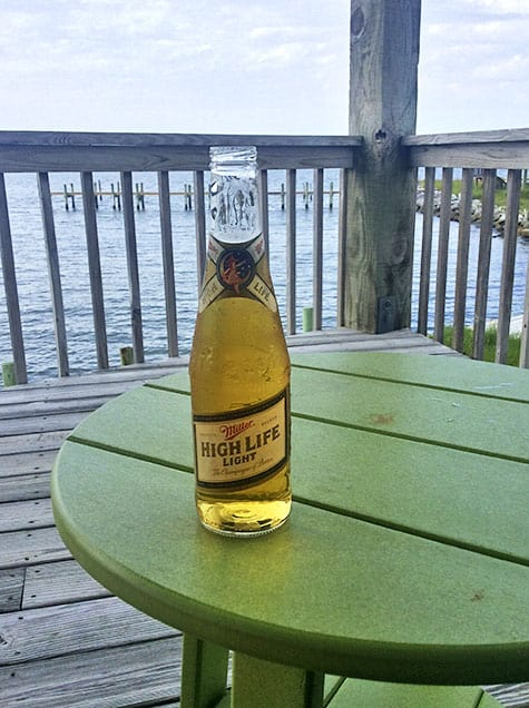 Miller High Life is truly the King of Beers on a beach trip_AIE