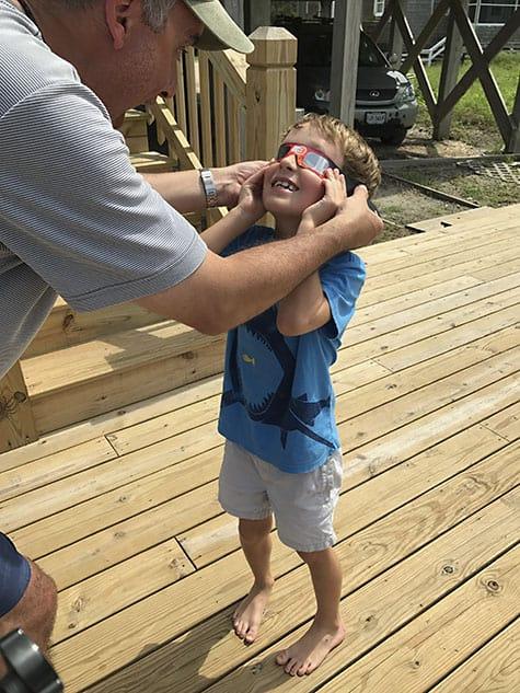 Ocracoke Solar Eclipse_AIE