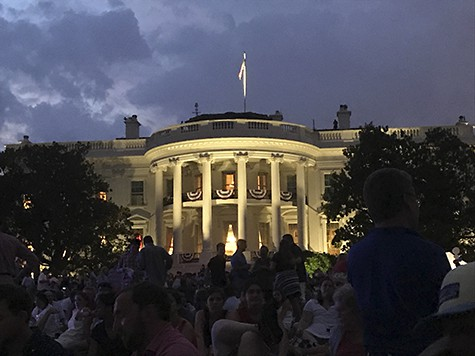 Fourth of July at The White House at night_AIE