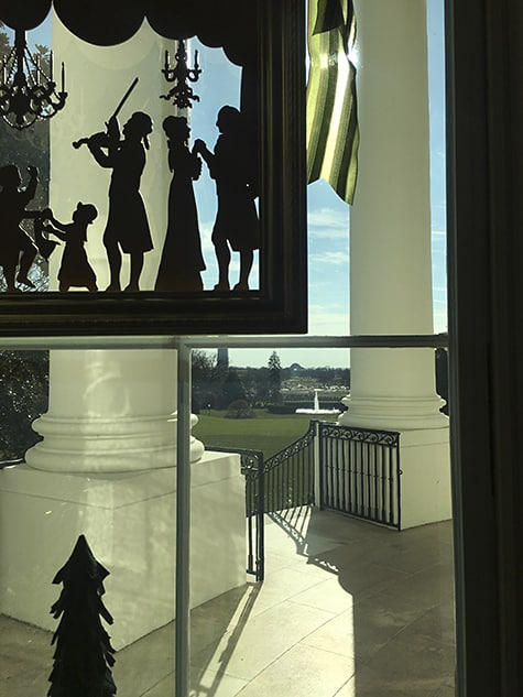 White House Window Silhouette Detail_AIE