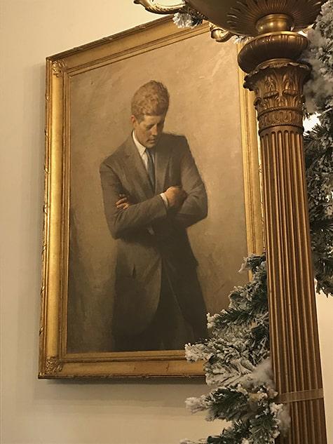 Pensive JFK Portrait_AIE