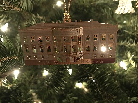 Exclusive ornament that you can only purchase at The White House_AIE