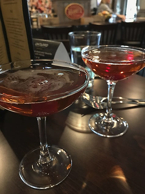 Reward: many rounds of their Boulevardier and Manhattan Slings in tribute to non-prohibition days_AIE