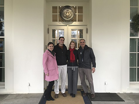 More current family pic at White House on Art Is Everywhere