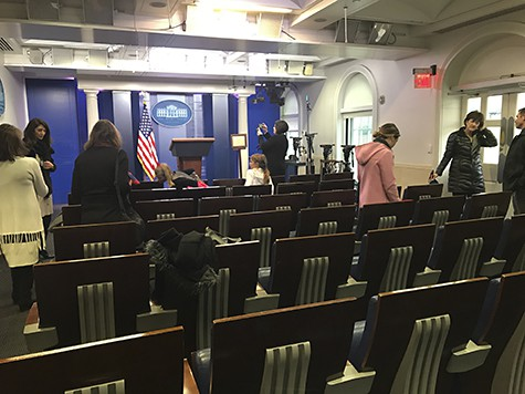 White House Press Office 3 on Art Is Everyhwere