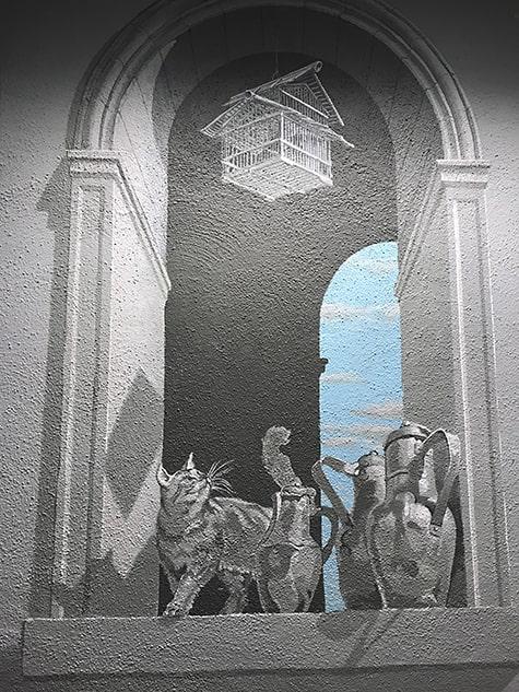 Trompe l'oeil Airlie Mural detail_AIE