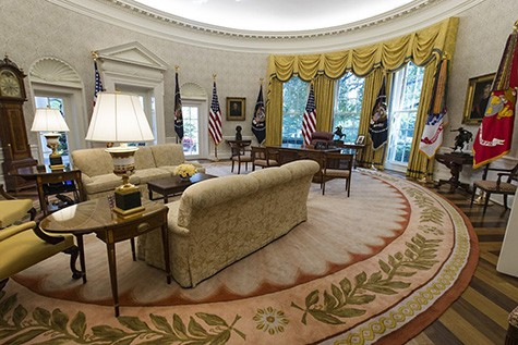 Trump Oval Office on Art Is Everywhere