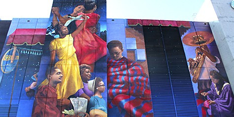 Chattanooga mural by Meg Saligman on Art Is Everywhere