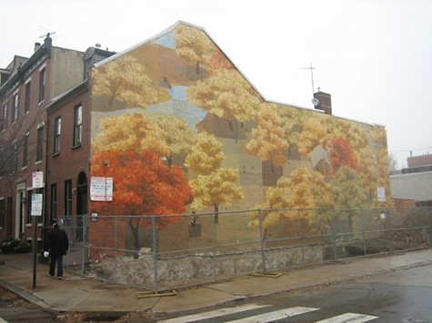 Philly Autumn Mural on Art Is Everywhere