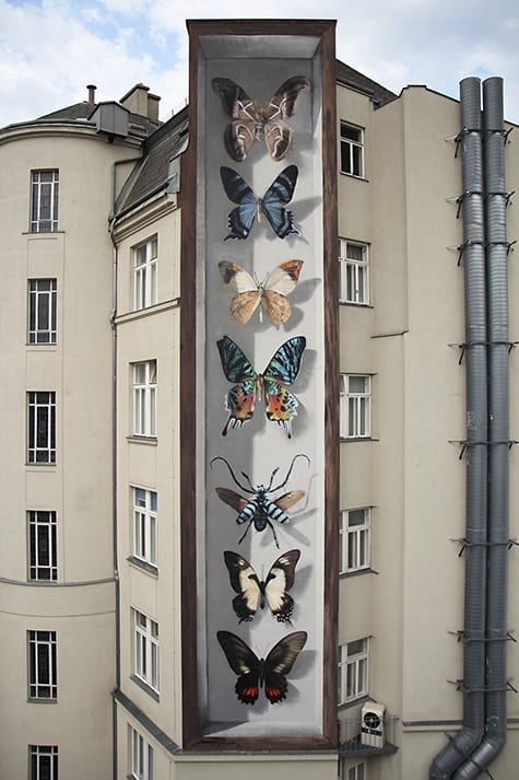 Gorgeous Mantra butterfly mural_AIE