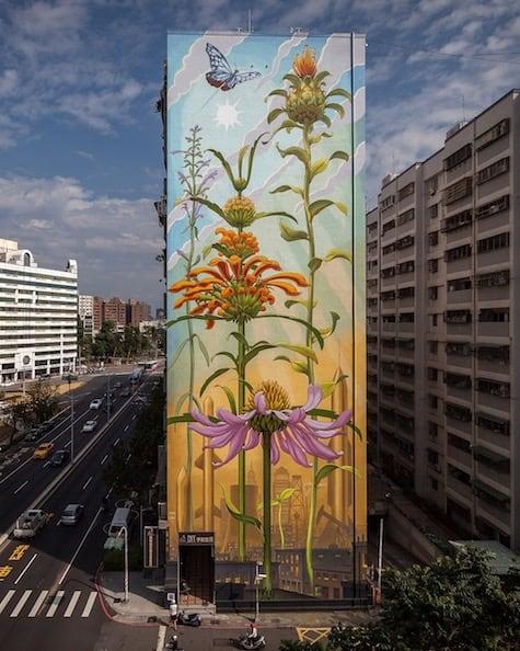 Mona Caron weeds murals-8_AIE